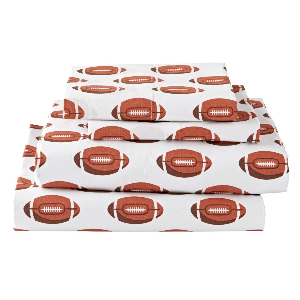 Organic Nod Football Sheet Set
