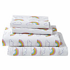 Organic Rainbow Full Sheet Set
