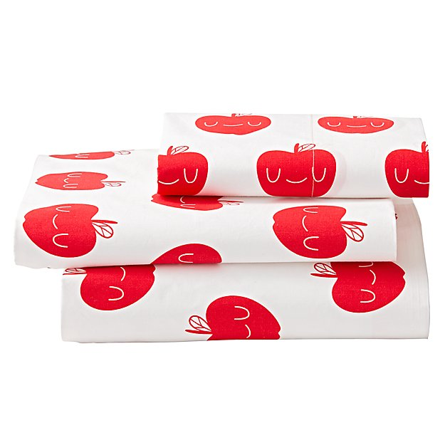 Organic Apple Orchard Twin Sheet Set