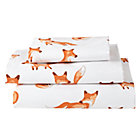 Organic Fox Twin Sheet Set