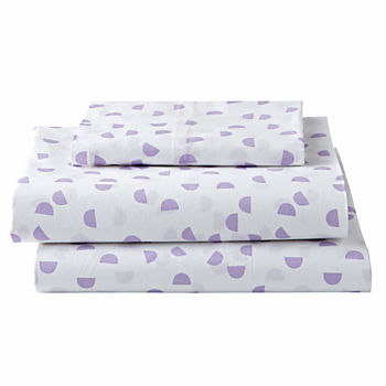 Organic Half Moon Twin Sheet Set