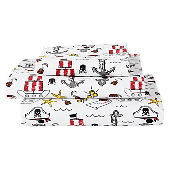 Organic Pirate Twin Sheet Set