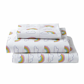 Organic Rainbow Twin Sheet Set