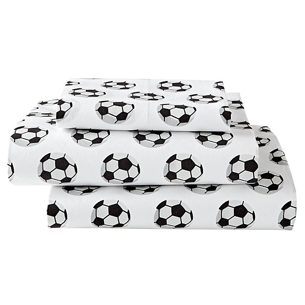 Organic Nod Soccer Twin Sheet Set