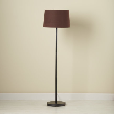 Kids Floor Lamps Lamp Base With Fabric Shade Chocolate Brown Light Years