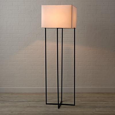 Lamp_Floor_Square_Metal_BL_On