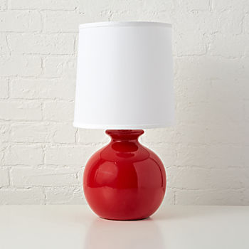 Gumball Red Table Lamp