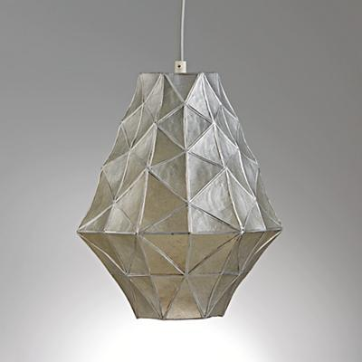 Faceted Pendant (Silver)