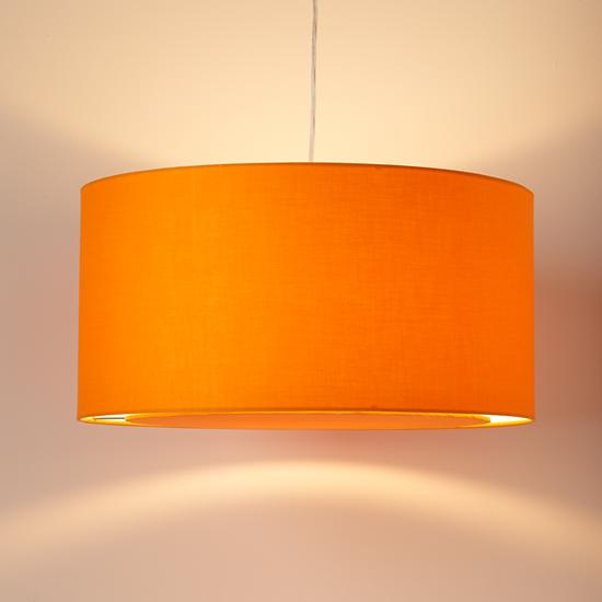 Orange ceiling shade theteenline orange ceiling light aloadofball Image collections