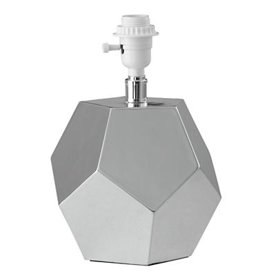 Between a Rock Table Lamp Base (Silver)
