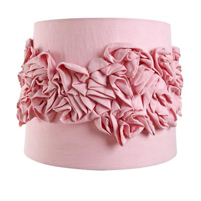Ruffled Table Shade (Pink)