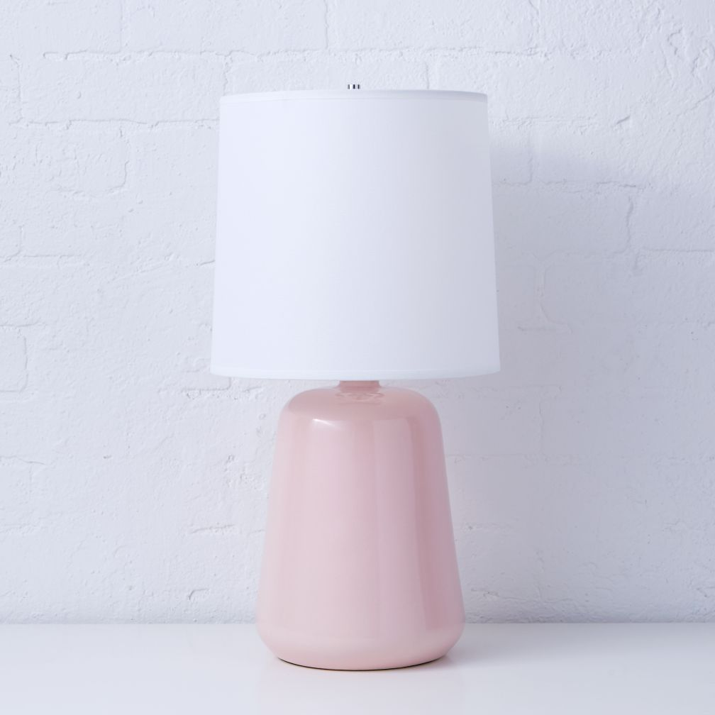 Gumdrop Light Pink Table Lamp