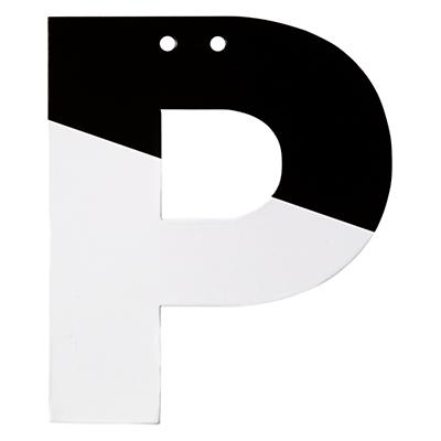 Letter_Black_and_White_P_LL