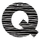 Letter_Black_and_White_Q_LL