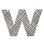 Letter_Black_and_White_W_LL