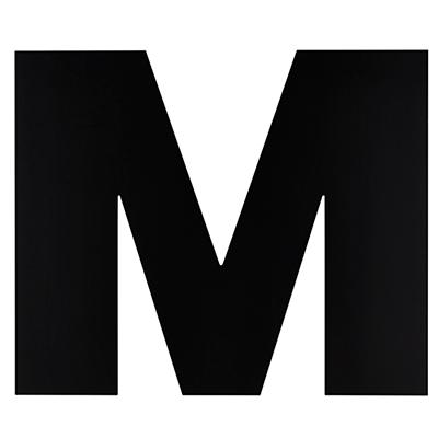 Not Giant Enough Letter M