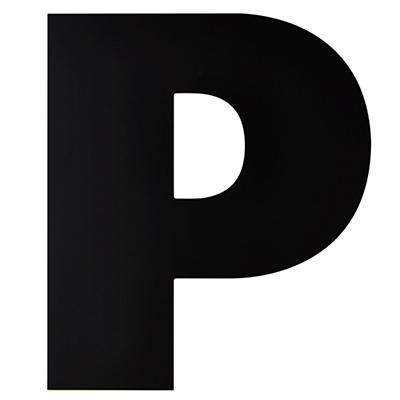 Not Giant Enough Letter P