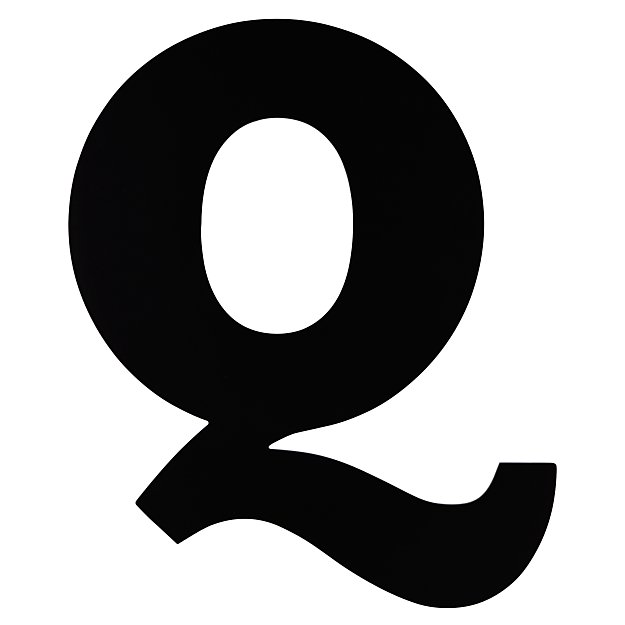 Not Giant Enough Letter Q
