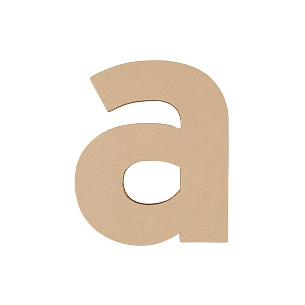 Large A Crafty Kraft Paper Letter