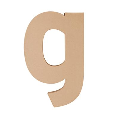 Large G Crafty Kraft Paper Letter