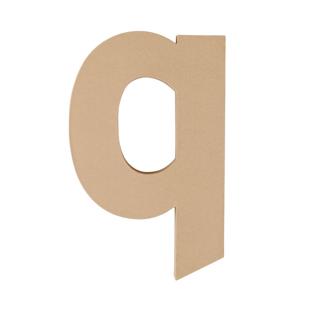 Large Q Crafty Kraft Paper Letter