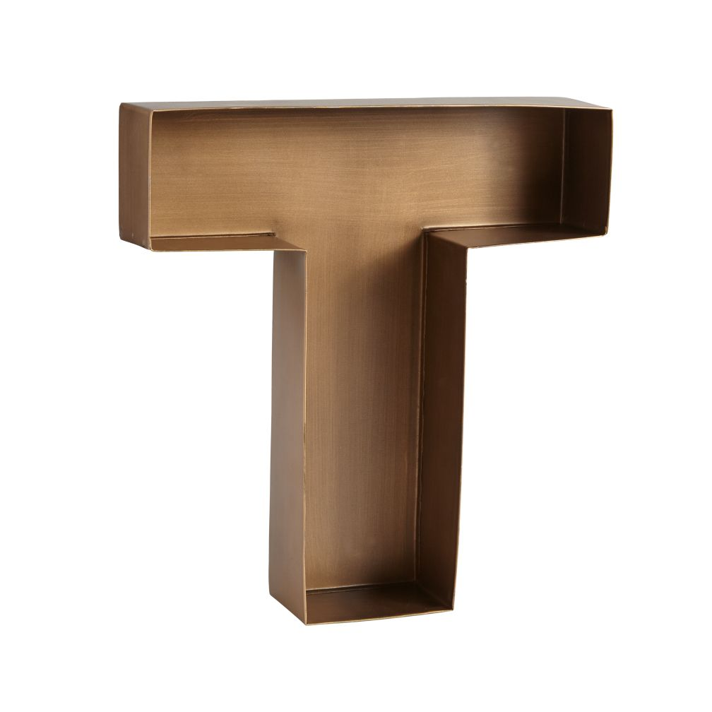 Metal Letter T T Magnificent Metal Letter  The Land Of Nod