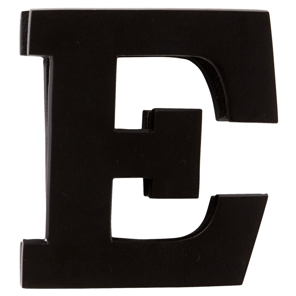 E Typeface Wall Clip
