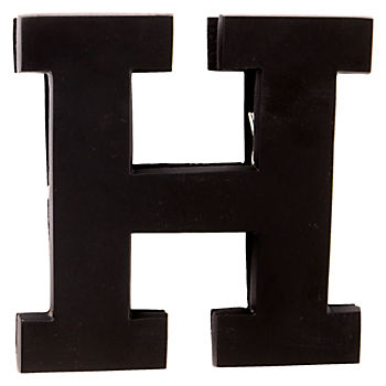 H Typeface Wall Clip