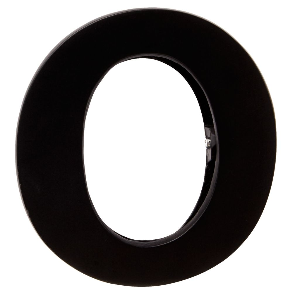 O Typeface Wall Clip
