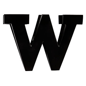 W Typeface Wall Clip