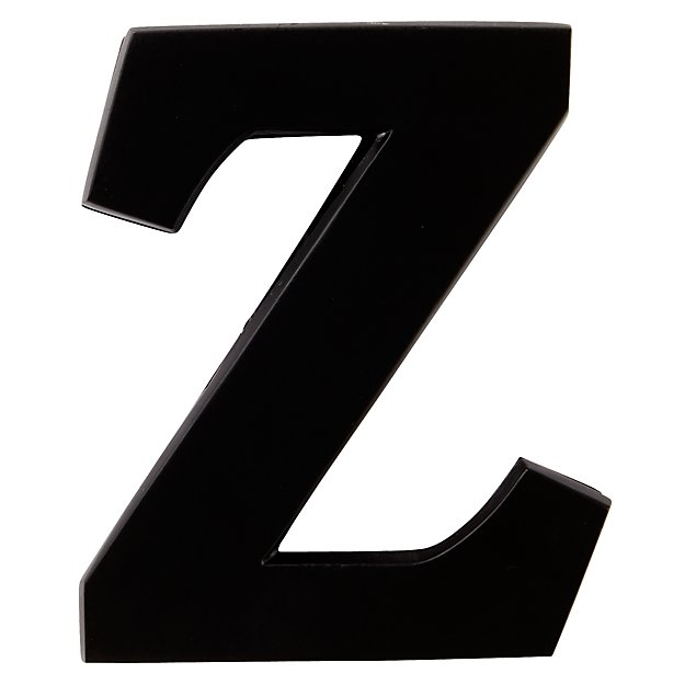 Z Typeface Wall Clip
