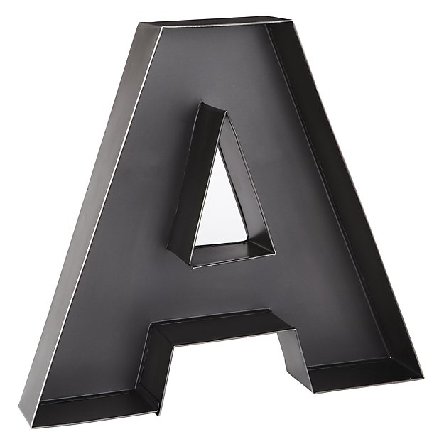 A Magnificent Metal Letter