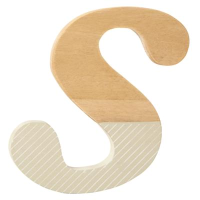 s Pattern Dipped Wall Letter