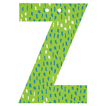 'Z' Perfect Pattern Boy Letter