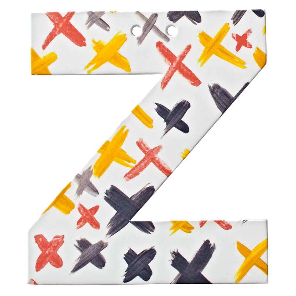 Z Watercolor Letter