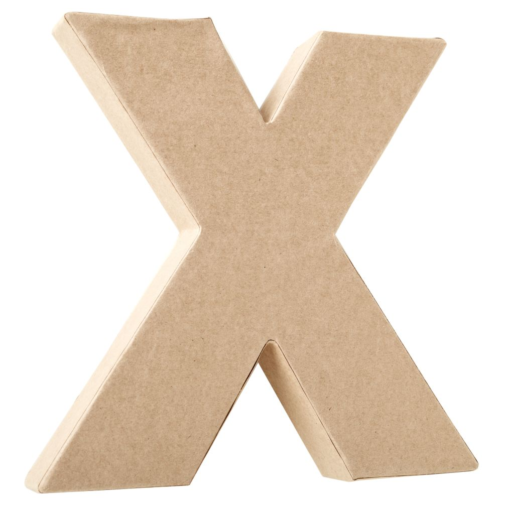X Crafty Kraft Paper Letter