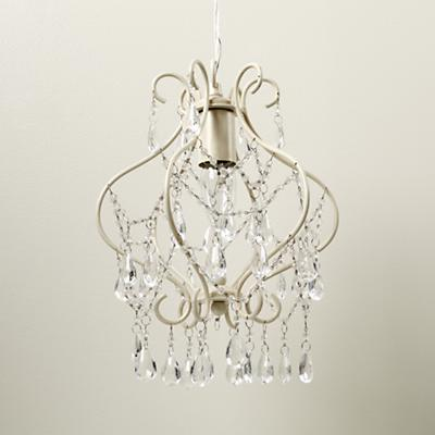 Stranded on a Beaded Chandelier