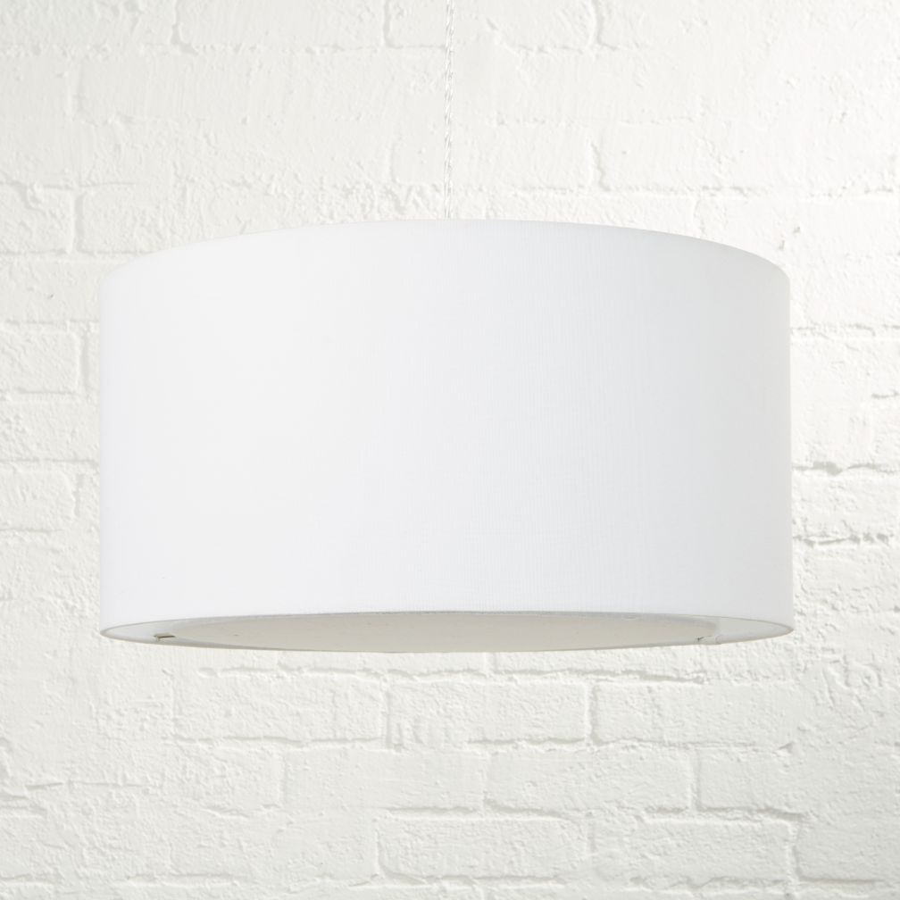 hangin around ceiling lamp white the land of nod - White Bedroom Ceiling Lights