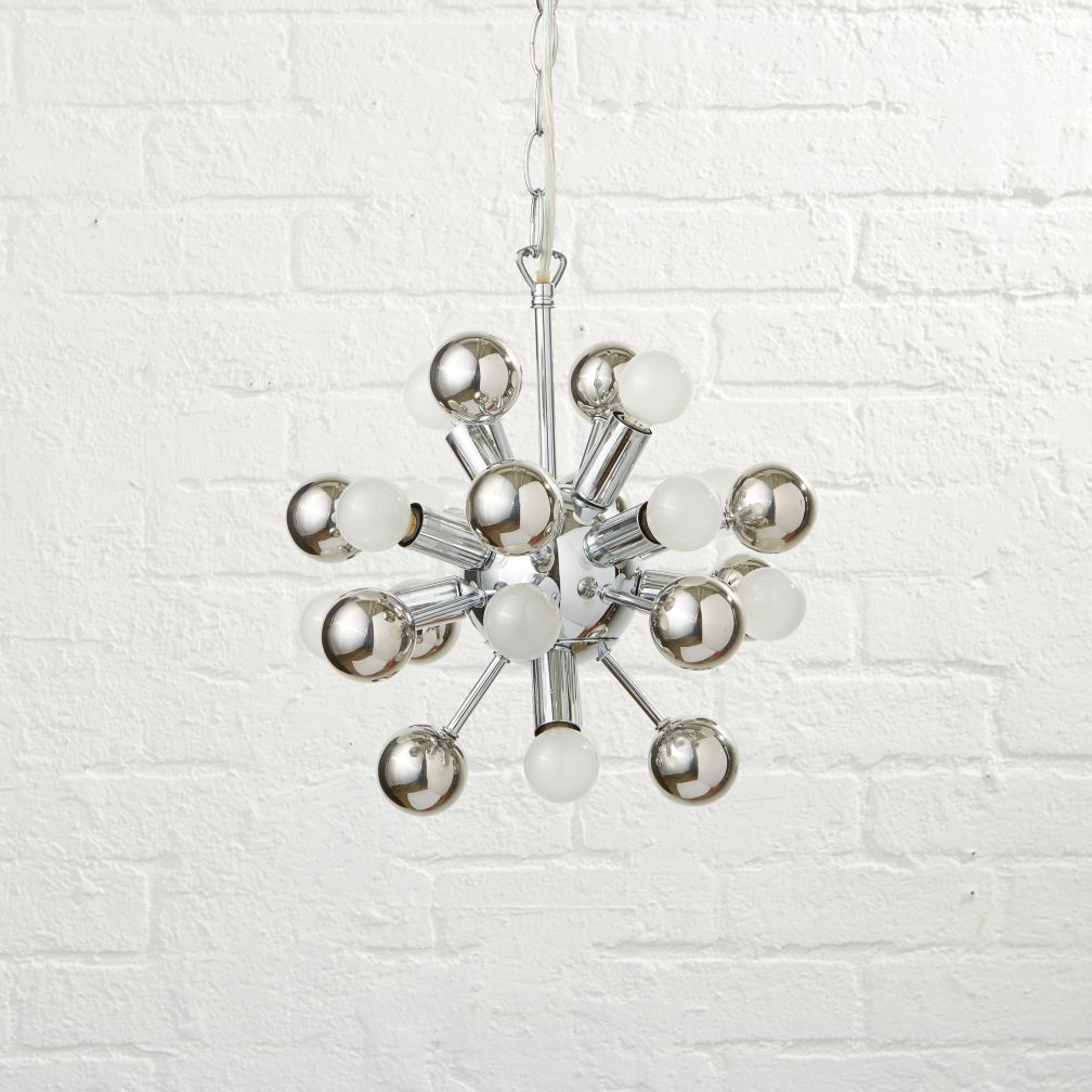 Hangin' Around Ceiling Lamp (Green) | The Land of Nod:Up and Atom Chandelier,Lighting