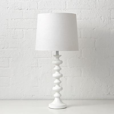 Jenny Lind Table Lamp (White)