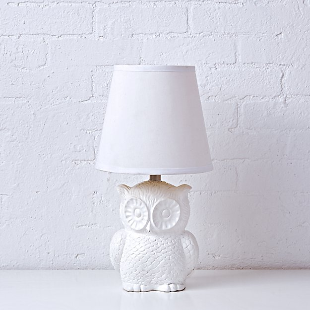 Not So Nocturnal Owl Lamp