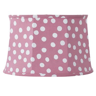 Spots and Dots Table Shade (Pink/White)