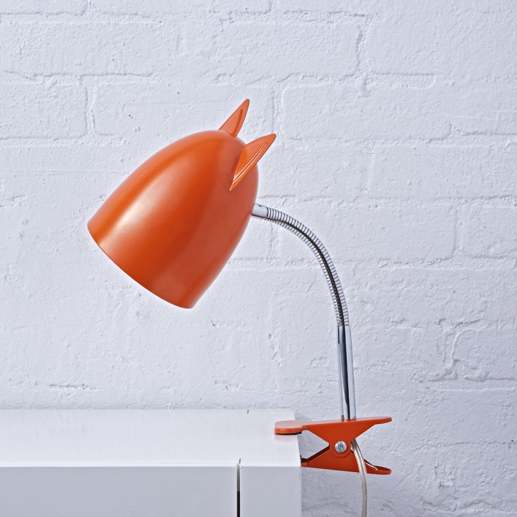 Wildlife Clip Lamp (Fox)