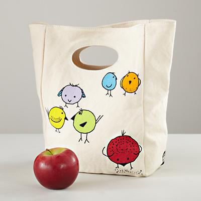 Carried Away Chirp Lunch Bag