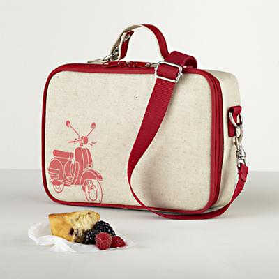 Retro Scooter Lunchbox