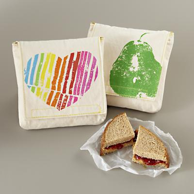 Fruit Snack Pouch<br /> Heart/Pear