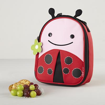 Feeding Time Lunch Bag (Ladybug)