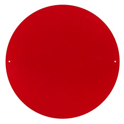 """12"""" Circle Magnet Board (Red)"""
