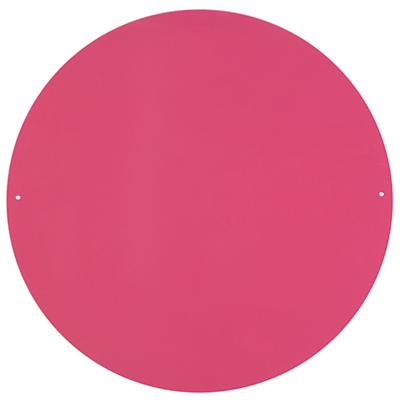 "Perfect Circle 16"" Magnet Board (Pink)"