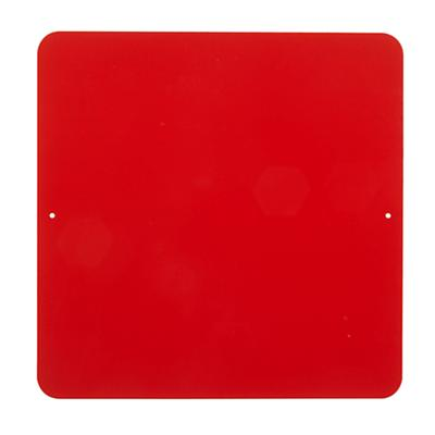 "12"" Square Magnet Board (Red)"